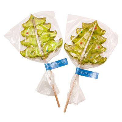 Image of Promotional Christmas Tree Shaped Lollipop