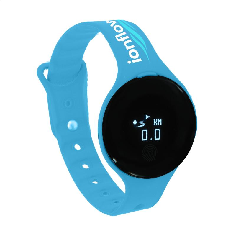 printed health focus activity tracker with bluetooth activity