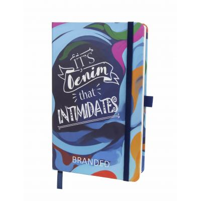Image of Promotional Bespoke A6 Notebook, Custom Made Notebooks