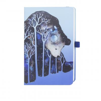 Image of Promotional Bespoke A4 Notebook, Custom Made A4 Notebooks