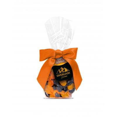 Image of Promotional Halloween Jelly Beans Presented In A Gift Bag With Printed Tag