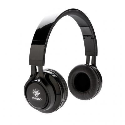 Image of Promotional Wireless Headphones With Light Up Logo Branding