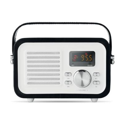 Image of Promotional Retro Style Bluetooth Speaker With Radio