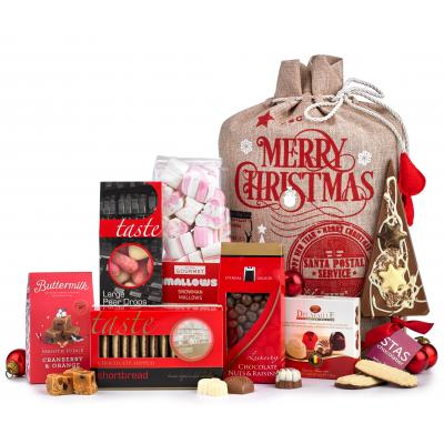 Image of Promotional Christmas Sweet and Chocolate Hamper