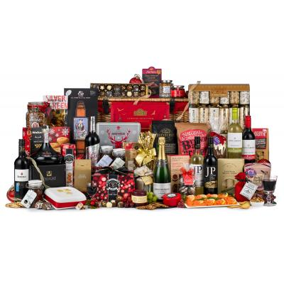 Image of Promotional Corporate Luxury Christmas Hamper