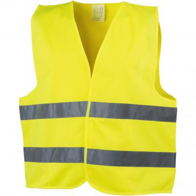 Image of Promotional Safety Hi Vis Safety Jacket, Orange or Yellow, ISO Compliant