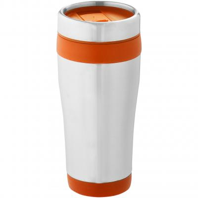 Image of Promotional Elwood 470 ml insulated travel mug
