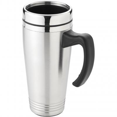 Image of Promotional Pasadena insulated mug with handle, 500ml
