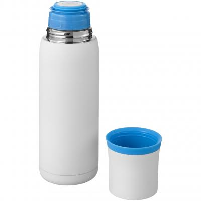 Image of Promotional Flow vacuum insulated flask with mug, 500ml
