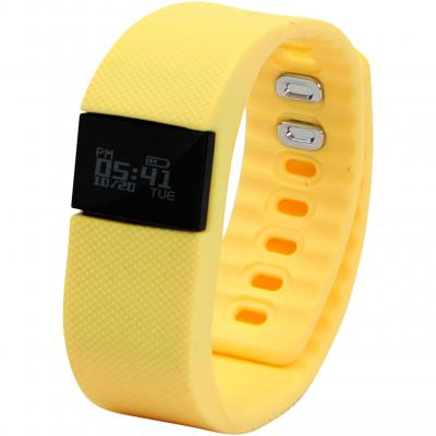 Image of Branded Prixton Smart Activity Tracker AT300, Yellow