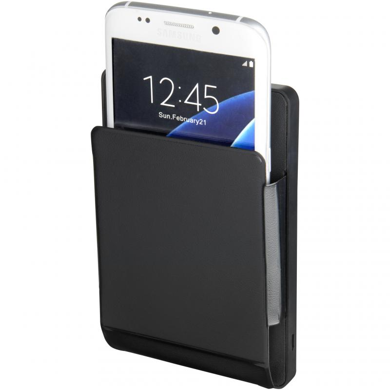 Engraved Orb wireless phone charging pouch :: Promotional