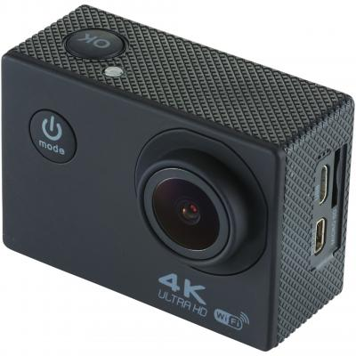 Image of Promotional Portrait 4k wifi action camera with accessory pack