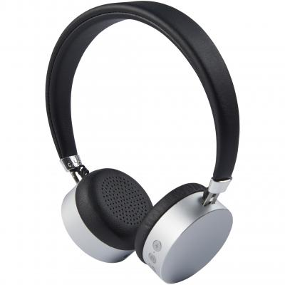 Image of Engraved Millennial aluminium Bluetooth® headphones, silver