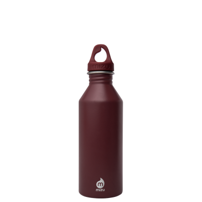 Image of Promotional Mizu M5 stainless steel reusable bottle, burgundy
