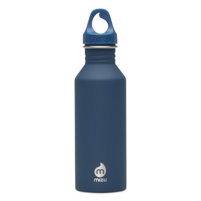 Image of Printed Mizu M5 stainless steel reusable bottle, Blue
