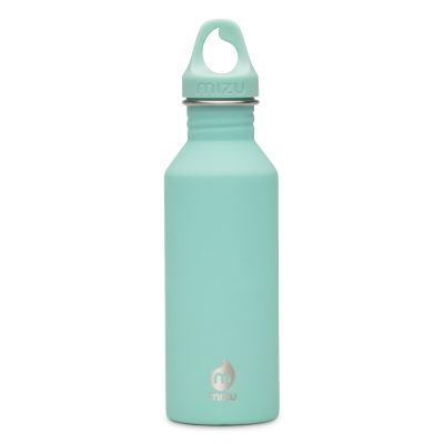 Image of Printed Mizu M5 stainless steel reusable bottle, Spearmint Green
