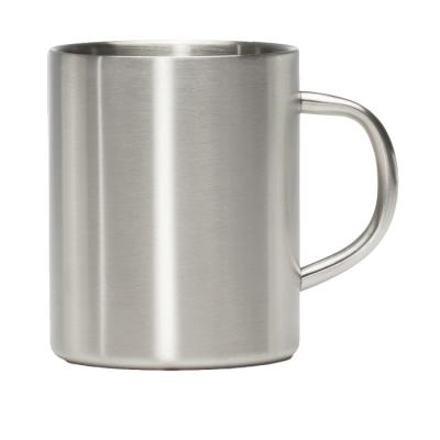 Image of Promotional Mizu Camp Cup, Retro Style campfire mug 415ml silver