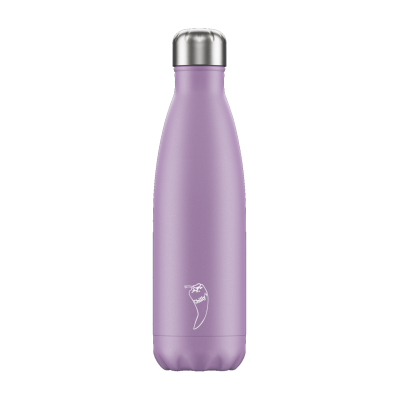 Image of Promotional Chilly's Bottles Pastel Purple 500ml. Reusable Refill Bottle