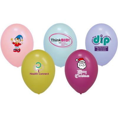 Image of Promotional Branded 12 Inch  Latex Balloons