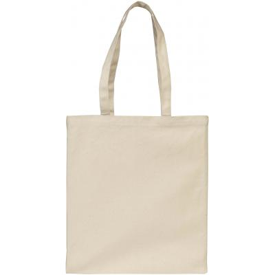 Image of Printed Allington 12oz Cotton Canvas Show Bag. Natural Cotton Bag