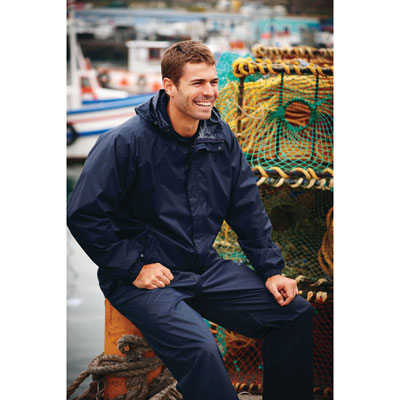 Image of Promotional Lightweight Waterproof Jacket-Waterproof, Wind Proof And Breathable (Regatta Packaway11) Colours: Black, Navy