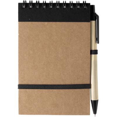 Image of Branded Recycled Wire Bound Notebook and Pen