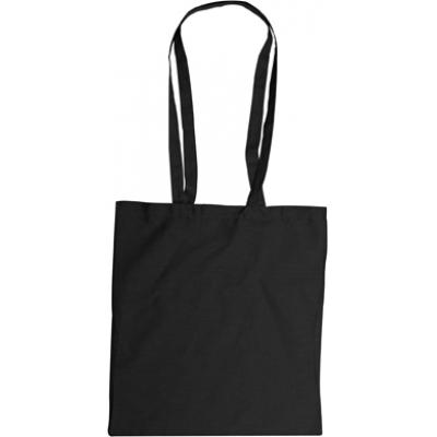 Image of Branded Cotton Bag with Long Handles. Lots Of Colours Available