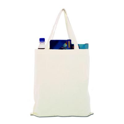Image of Promotional Cotton bag with Short Handles, Natural