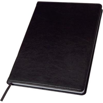 Image of Promotional A5 Notebook in a PU case, Black
