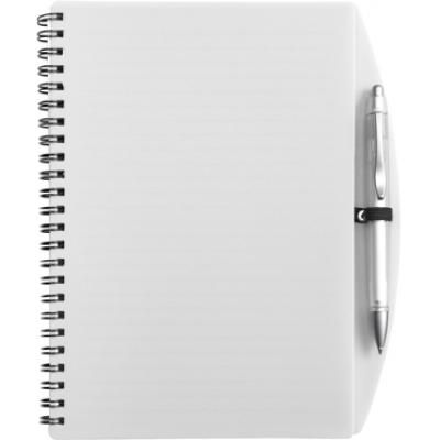 Image of Promotional Notebook; A5 Spiral Note Book and Ballpen