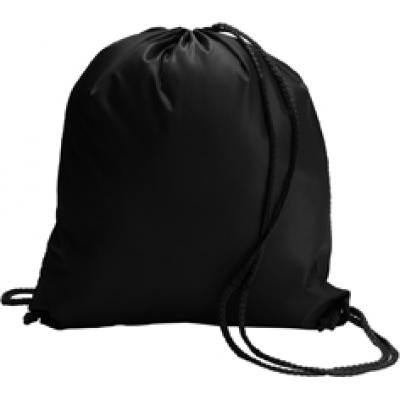 Image of Branded Drawstring Bag With Matching Drawstrings