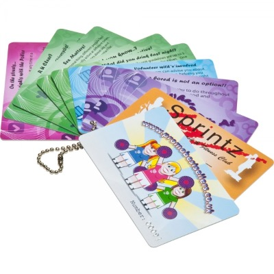 Image of Promotional Printed Plastic Cards (54 x 30mm 0.76mm thick)