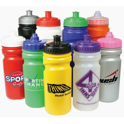 Image of Printed Finger Grip Sports Bottle 500ml - Finger Grip sports bottle available in 750ml