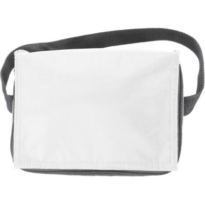 Image of Branded Six Can Zipped Cooler Bag.