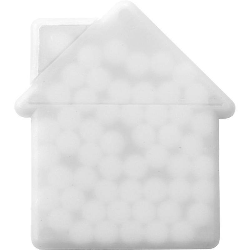 House Shaped Mint Card Mints Promobrand Promotional