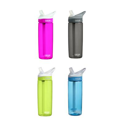 Image of Printed CamelBak Eddy 0.6L Bottle - Sports Bottle In Peach, Green, Blue, Black, and Purple