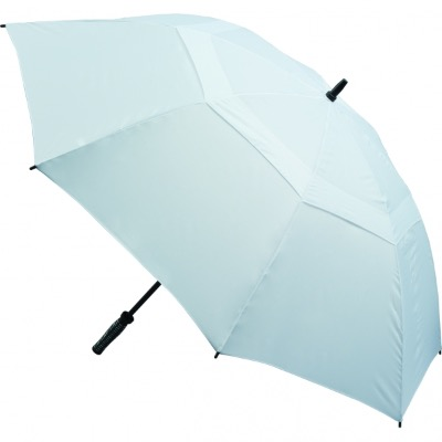 Image of Promotional Vented Golf Umbrella - White