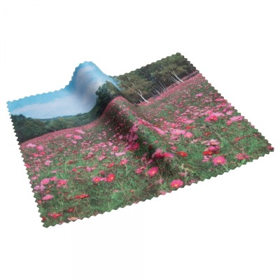 Image of Microfibre Lens Cloth - Small Can be Printed On 1 Or 2 Sides