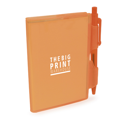 Image of Promotional A7 PVC Notebook and pen Express