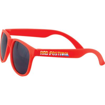 Image of Full colour printed sunglasses with quick delivery