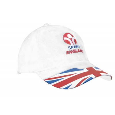 Image of Waving Flag Baseball Cap