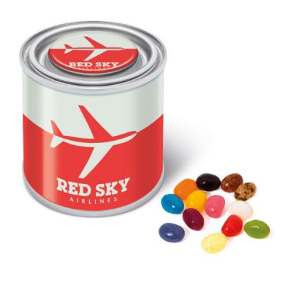 Image of Branded Small Paint Style Tin With The Jelly Bean Factory Jelly Beans