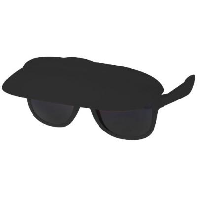 Image of Promotional Miami sun visor sunglasses printed with your logo