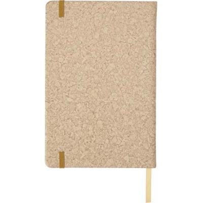 Image of Promotional A5 Notebook with a PU cork effect cover
