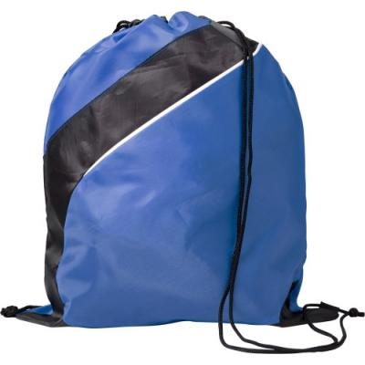 Image of Promotional Drawstring Sports Bag Made From 201D Polyester