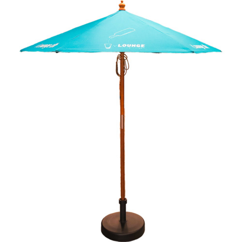 4bebe3115f781 2m Wooden Parasol :: Umbrellas :: PromoBrand Promotional Merchandise ...