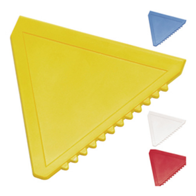 Image of Branded Triangle Ice Scraper, Personalised With Your Company Logo