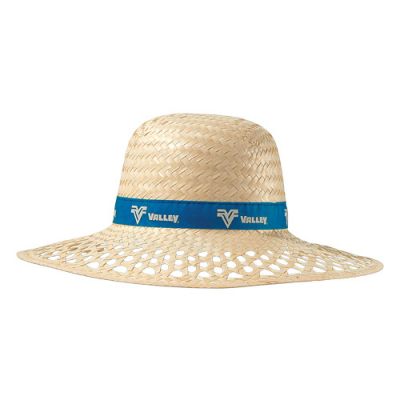856389cb3b6cd Straw Sun Hat :: Hats :: PromoBrand Promotional Merchandise Swag ...