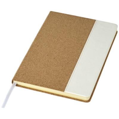 Image of Promotional A5 Cork Notebook with expandable pocket