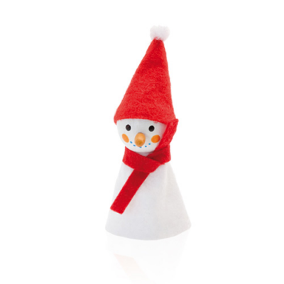 Image of Promotional Christmas Finger Puppet Snowman